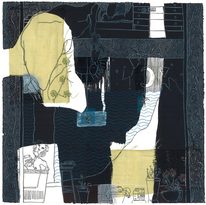DAY VII, 2011, mixed media on paper, 20 X 20 cm