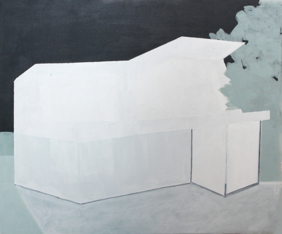 GLOW, 2014, acrylic on canvas,  39 X 47 cm