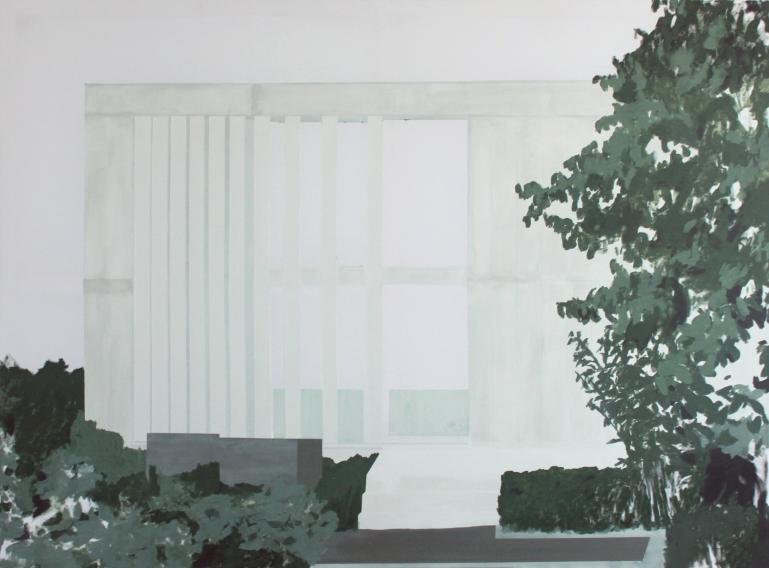 HOUSE IV, 2014, acrylic on canvas,  140 X 190 cm
