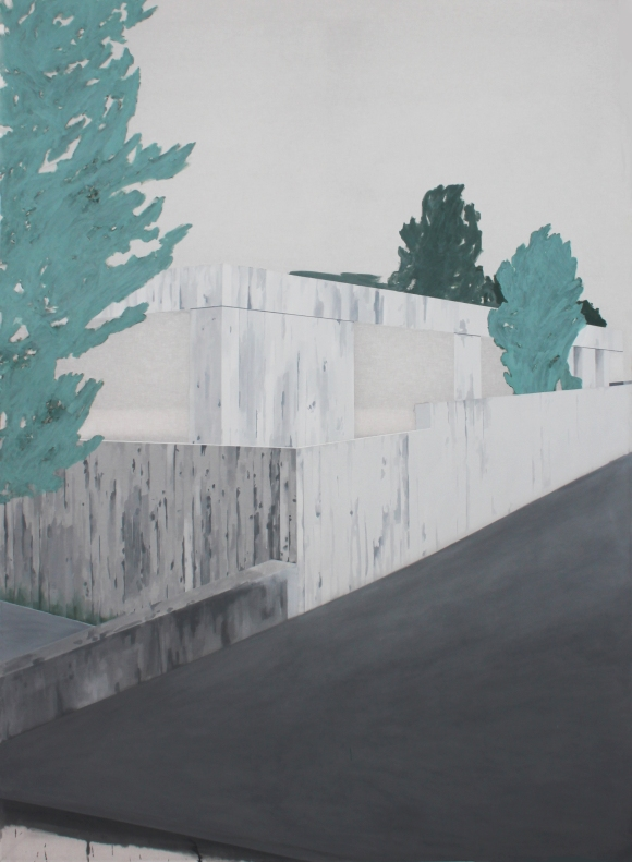 HOUSE IV, 2015, acrylic on canvas, 200 X 145 cm